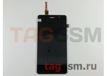 Дисплей для Lenovo S860 + тачскрин (черный)