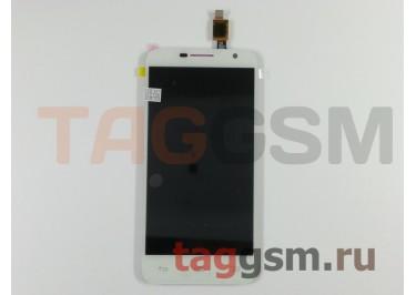 Дисплей для Alcatel OT-6016D / 6016X Idol 2 Mini + тачскрин (белый)
