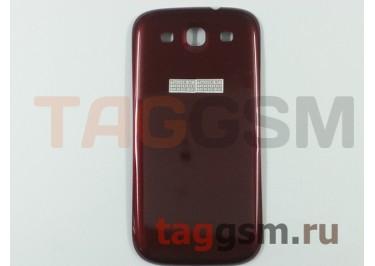Задняя крышка для Samsung i9300 (красный)