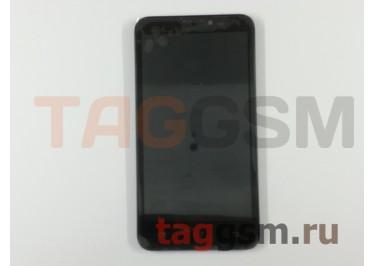 Дисплей для Prestigio MultiPhone 5300 DUO + тачскрин (черный), ориг