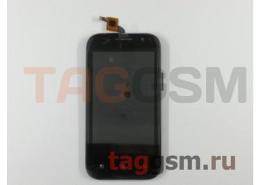 Дисплей для Prestigio MultiPhone 4044 DUO + тачскрин (черный), ориг