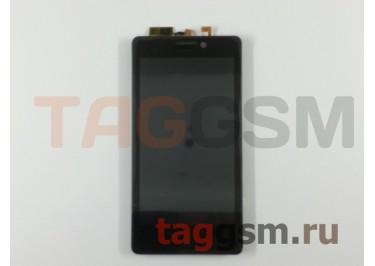 Дисплей для Prestigio MultiPhone 5430 DUO + тачскрин (черный), ориг