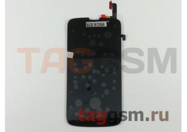 Дисплей для Philips W8555 Xenium + тачскрин (черный)