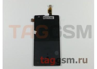 Дисплей для Philips W6500 Xenium + тачскрин (черный)