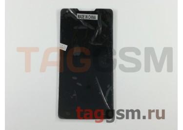 Дисплей для Philips W6618 / W6610 Xenium + тачскрин (черный)