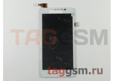 Дисплей для Lenovo S850 + тачскрин (белый)