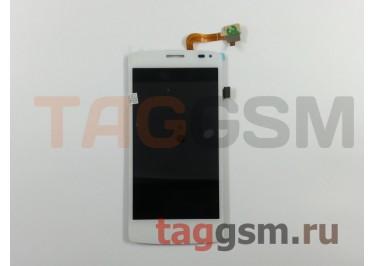Дисплей для Fly IQ4417 + тачскрин (белый)