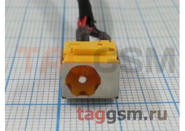 Разъем зарядки для Acer Aspire 6593 (с кабелем)
