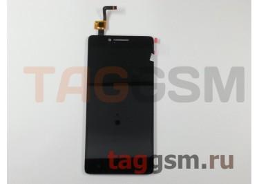 Дисплей для Lenovo A6000 + тачскрин (черный) (телефон)