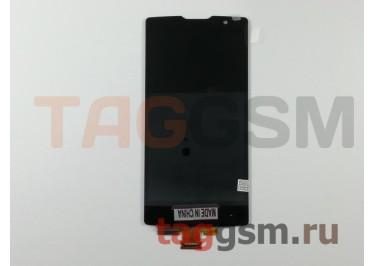 Дисплей для LG H422 Spirit  + тачскрин (черный)