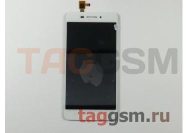 Дисплей для Lenovo S60 + тачскрин (белый)