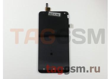 Дисплей для Lenovo S580 + тачскрин (черный)