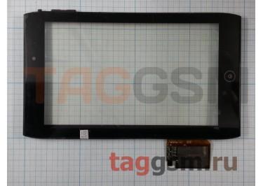 """Тачскрин для Acer Iconia Tab A100 / A101 7"""" в рамке (черный) (MKTS1T)"""