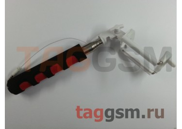 Палка для селфи (монопод) Q1, красный