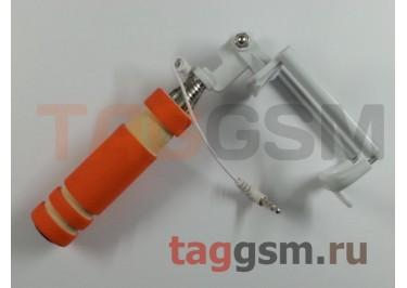Палка для селфи (монопод) Mini monopod, оранжевый