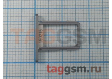 Держатель сим для Samsung G920f Galaxy S6 (серый)