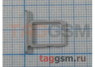 Держатель сим для Samsung G920f Galaxy S6 (белый)