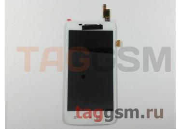 Дисплей для Lenovo S650 + тачскрин (белый)