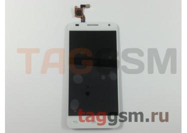 Дисплей для Alcatel OT-6036y Idol 2 Mini S + тачскрин (белый)
