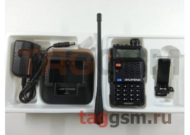 Радиостанция носимая (рация) Baofeng BF-F8+ (черный) (136-174MHz / 400-520MHz)