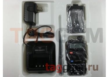 Радиостанция носимая (рация) Baofeng UV-5R (черный) (136-174MHz / 400-520MHz)