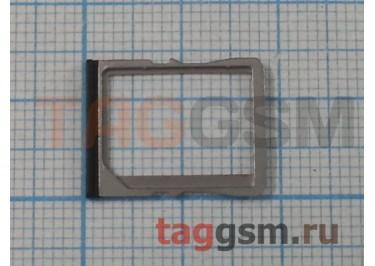 Держатель сим для HTC One (черный)