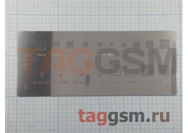 Трафарет BGA APQ8064 / MBG965H / MDM9215M / WTR1605 / WCD9310 / PM8917 / PM8018 / PM8921 / WCN3680 / WCD9320 / PM8841 / 2MSM8960