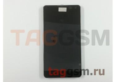 Дисплей для LG E975 Optimus G + тачскрин в рамке (черный)