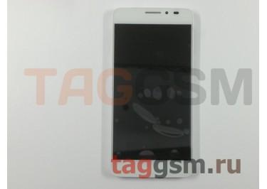 Дисплей для Alcatel OT-6040 / 6040D / 6040x Idol X + тачскрин (белый)