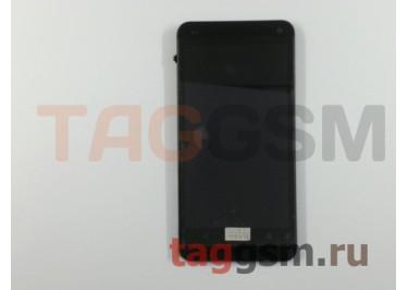 Дисплей для HTC One (M7 /  801e) 32GB + тачскрин (64,4x116,6mm) + черная рамка