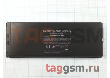 "АКБ для ноутбука MacBook 13"" A1181 Black, 55Wh 10.8V A1185 Mid 2006 Late 2006 Mid 2007 Late 2007 Early 2008 Late 2008 Early 2009 Mid 2009"