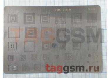 Трафарет BGA для Samsung i9100 / i9000 (s5008)