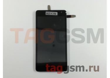 Дисплей для Microsoft 535 Lumia (RM1090) + тачскрин (черный) (CT2C1607FPC -A1)