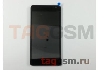 Дисплей для Microsoft 535 Lumia (RM1090) + тачскрин (черный) (CT2S1973FPC-A1)
