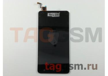 Дисплей для Lenovo A5000 + тачскрин (черный) (телефон)