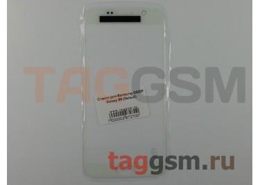 Стекло для Samsung G920F Galaxy S6 (белый)