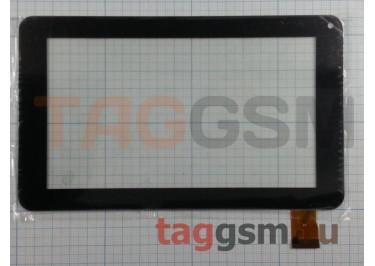 Тачскрин для Airis Onepad 741 / 750 7.0'' CZY6411-F728H / S738 (186*111 мм) (черный)