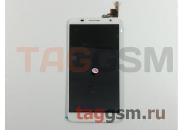 Дисплей для Alcatel OT-6050Y Idol 2S + тачскрин (белый)