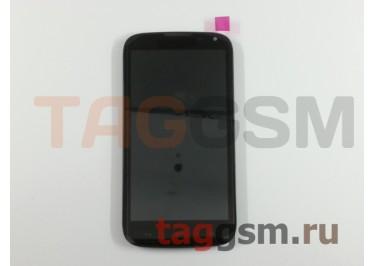 Дисплей для Huawei Ascend G610 + тачскрин (черный) + рамка