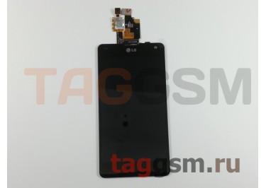 Дисплей для LG E975 Optimus G + тачскрин (черный), ориг
