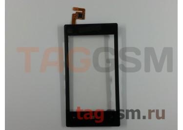 Тачскрин для Nokia 520 / 525 (черный) с рамкой