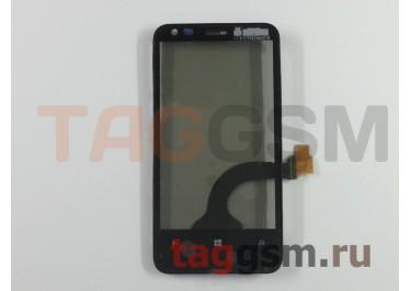 Тачскрин для Nokia 620 (черный) + рамка, Rev.3