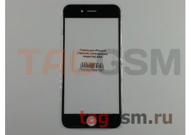 Стекло для iPhone 6 (черный), (олеофобное покрытие) ААА