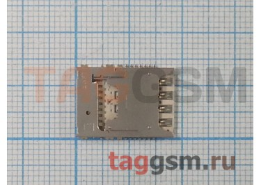 Считыватель SIM + MicroSD карты Samsung N900 / N9000 / N9005 Galaxy Note 3