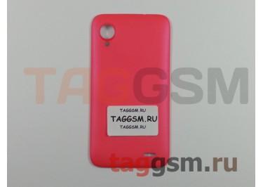 Корпус для Lenovo S720 (задняя крышка) (красный)