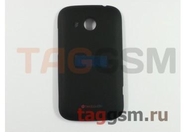 Корпус для HTC Desire C (задняя крышка) (черный)