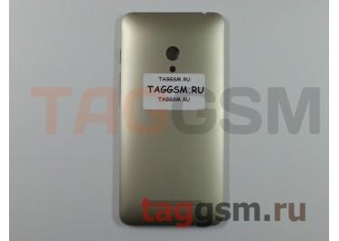 Корпус для Asus Zenfone 5 (золото) (задняя крышка)