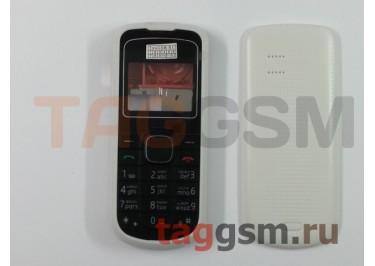 Корпус Nokia 1202 комплект белый + кнопки AAA