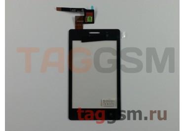 Тачскрин для Sony Xperia Go (ST27i) (черный), ориг
