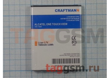АКБ CRAFTMANN для Alcatel OT  VIEW 1500mAh Li-ion